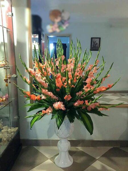 Mẫu hoa để bàn độc đáo cho ngày tết