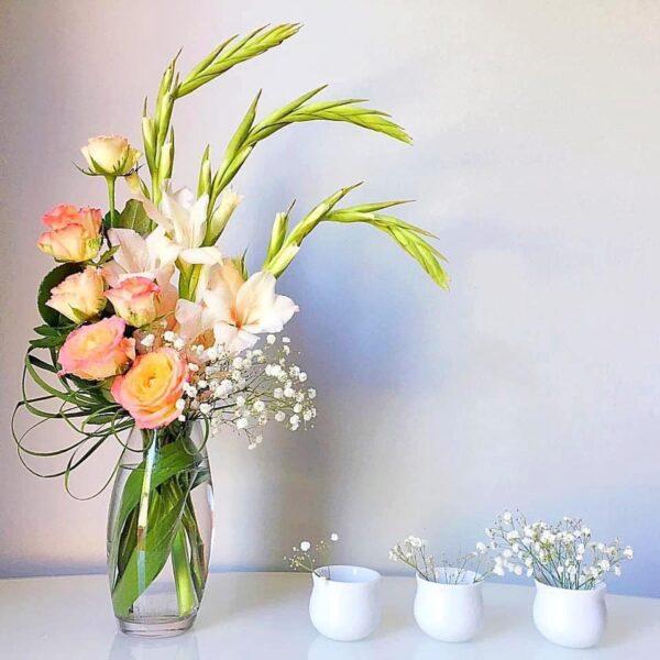 Mẫu hoa để bàn ngày tết cực đẹp