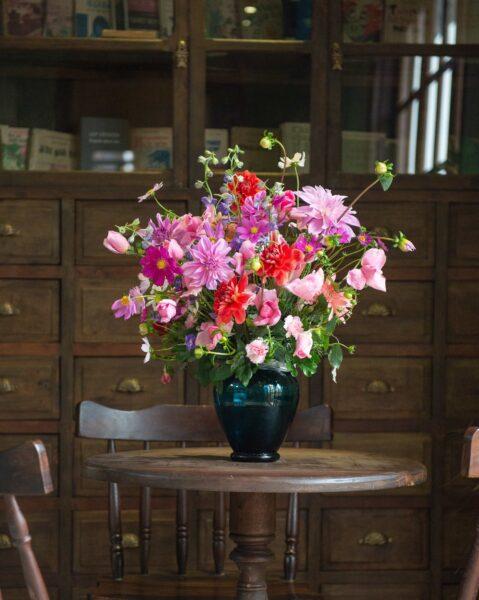 Mẫu hoa để bàn ngày tết đẹp và ý nghĩa