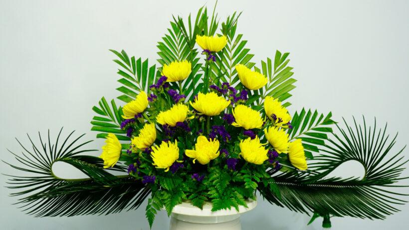 Mẫu hoa để bàn thờ đẹp