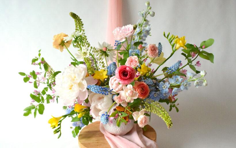 Mẫu hoa để bàn trang trí cho ngày tết tuyệt đẹp