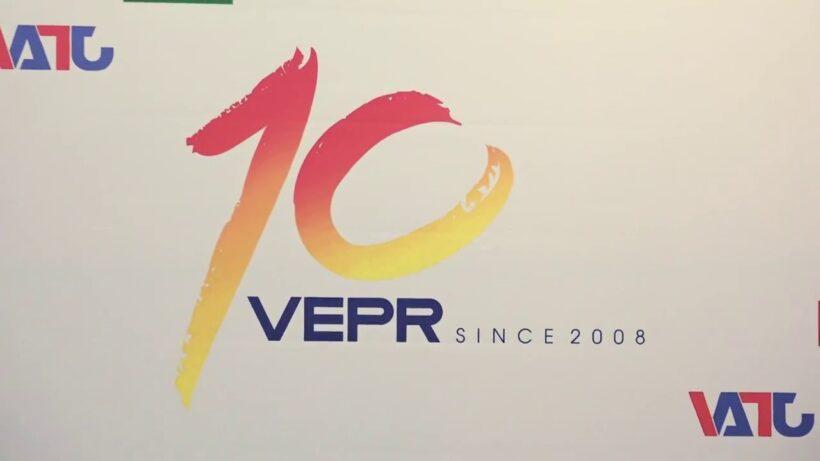 Mẫu logo kỉ niệm 10 năm củ tổ chức