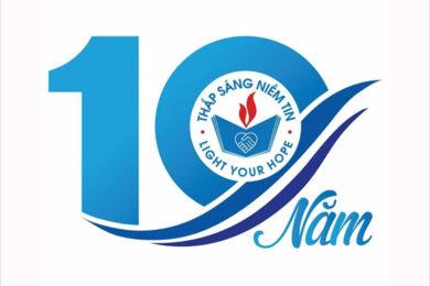 Mẫu logo kỷ niệm 10 năm đẹp, ấn tượng nhất