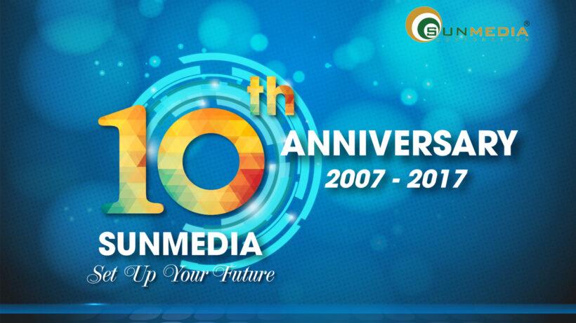 Mẫu logo kỉ niệm 10 năm đẹp nhất