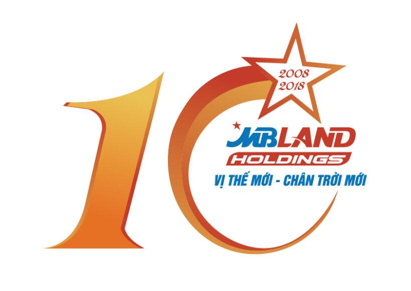 Mẫu logo kỉ niệm 10 năm ngành ngân hàng