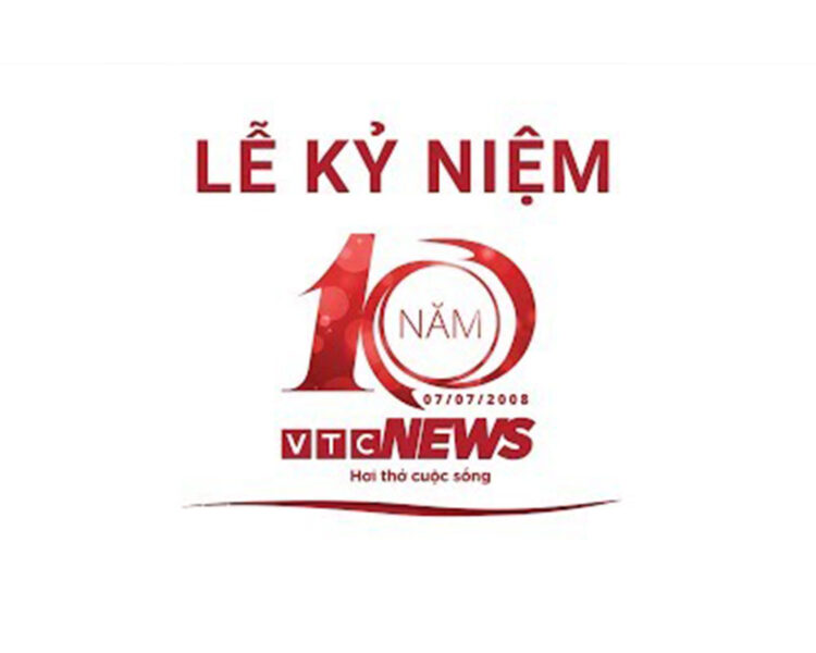 Mẫu logo kỉ niệm 10 năm truyền hình VTC