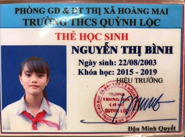 Mẫu thẻ học sinh đẹp trường THCS