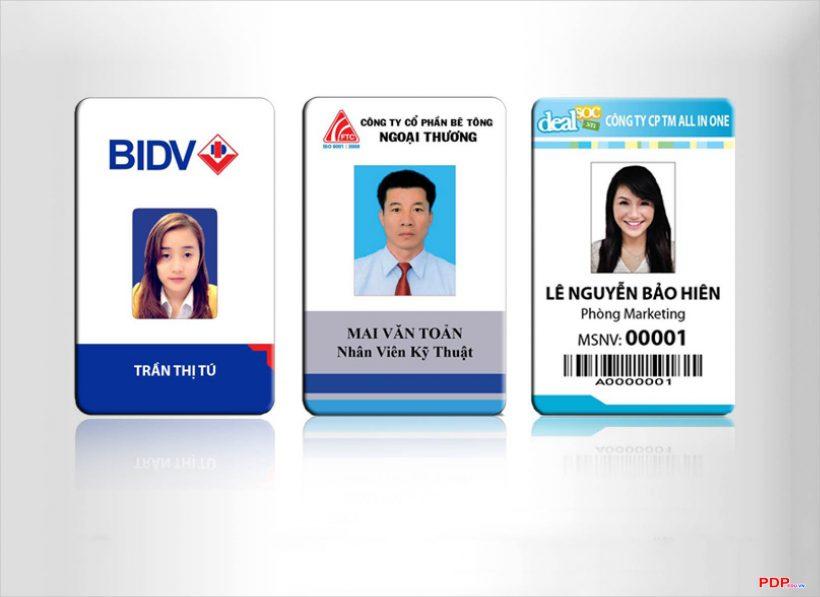 Những mẫu thẻ nhân viên đẹp, ấn tượng nhất