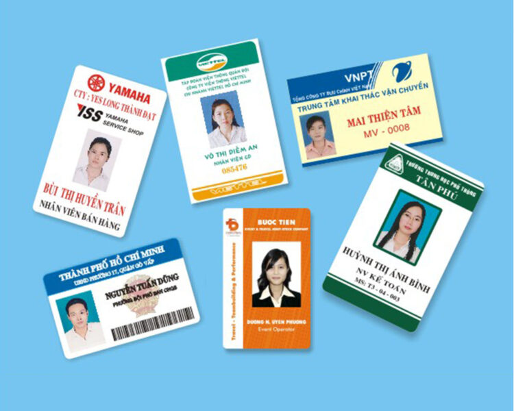 Những mẫu thẻ nhân viên đẹp nhất