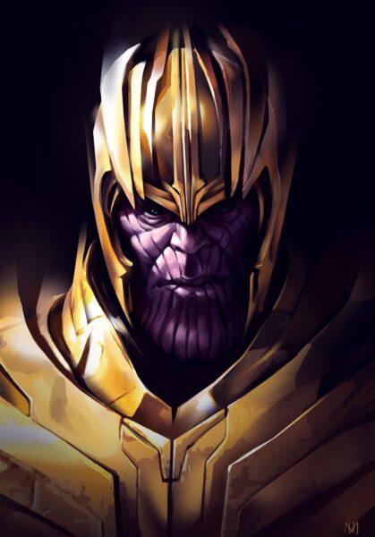 Thanos mạnh mẽ