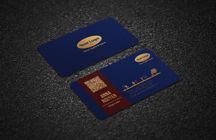 Thiết kế card visit cao cấp