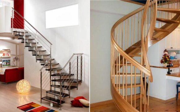 Thiết kế cầu thang cho nhà nhỏ