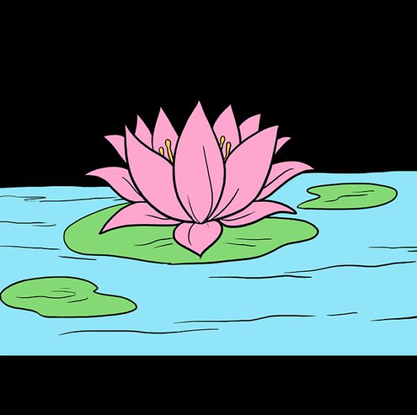 Tô màu cho hoa