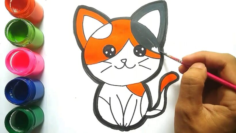 Vẽ con mèo