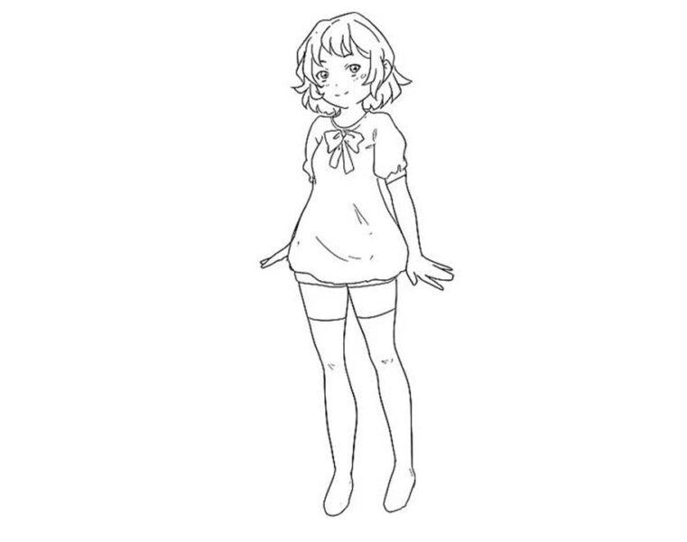 Vẽ thêm quần áo và tóc