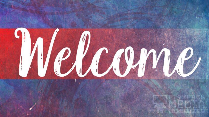 Welcome đẹp