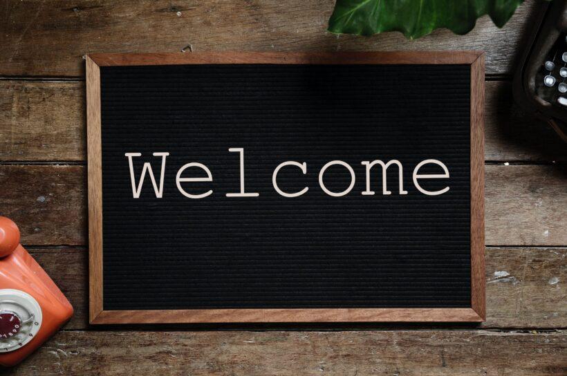 Welcome đẹp, ấn tượng nhất