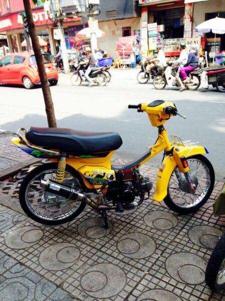 Xe Dream màu vàng đẹp (6)