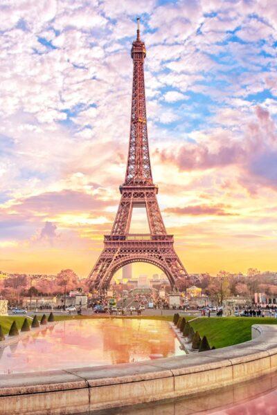 Ảnh tháp Eiffel đẹp, ấn tượng