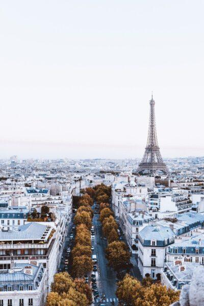 Ảnh tháp Eiffel độc đáo