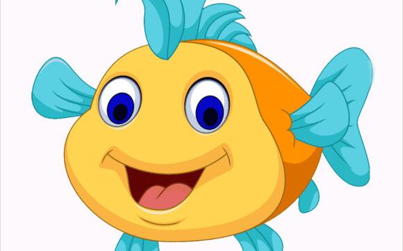 Cách vẽ con cá hoạt hình đơn giản, đẹp nhất