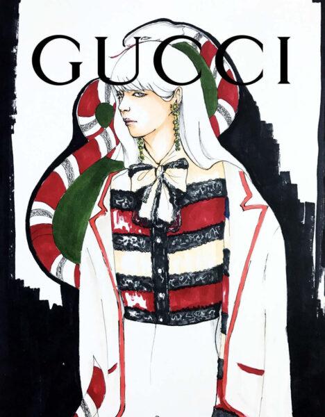 hình ảnh Gucci - brand thời trang thế giới