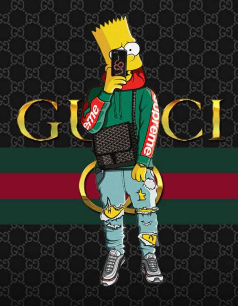 hình ảnh Gucci cartoon wallpapers