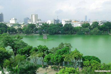 Hình ảnh Hồ Gươm đẹp nhất