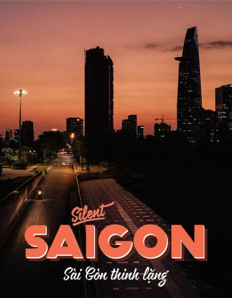 hình ảnh im lặng - Sài Gòn thinh lặng