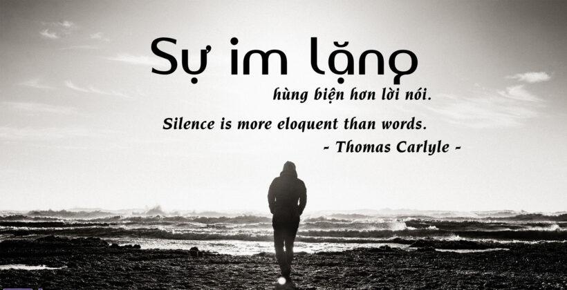 hình ảnh im lặng và ý nghĩa