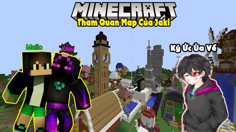 hình ảnh Jaki trong Minecraft - map sinh tồn