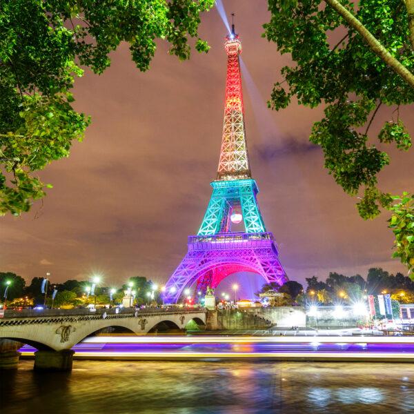 Hình ảnh nền tháp Eiffel siêu nét