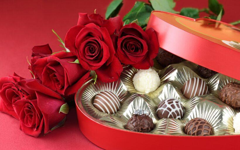 Hình ảnh Socola Valentine đẹp, lãng mạn