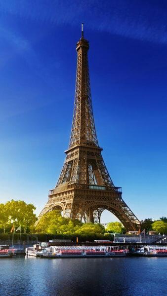 Hình ảnh tháp Eiffel cao chọc trời