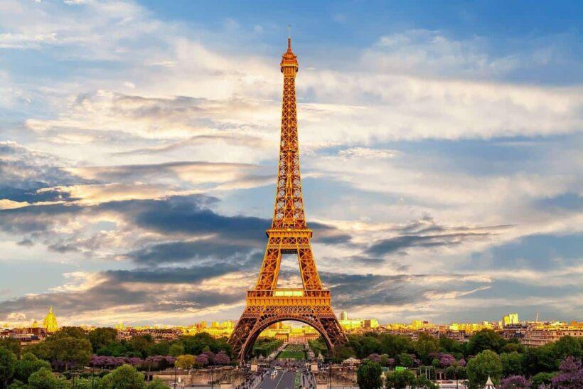 Hình ảnh tháp Eiffel của Pháp