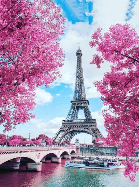 Hình ảnh tháp Eiffel cực đẹp