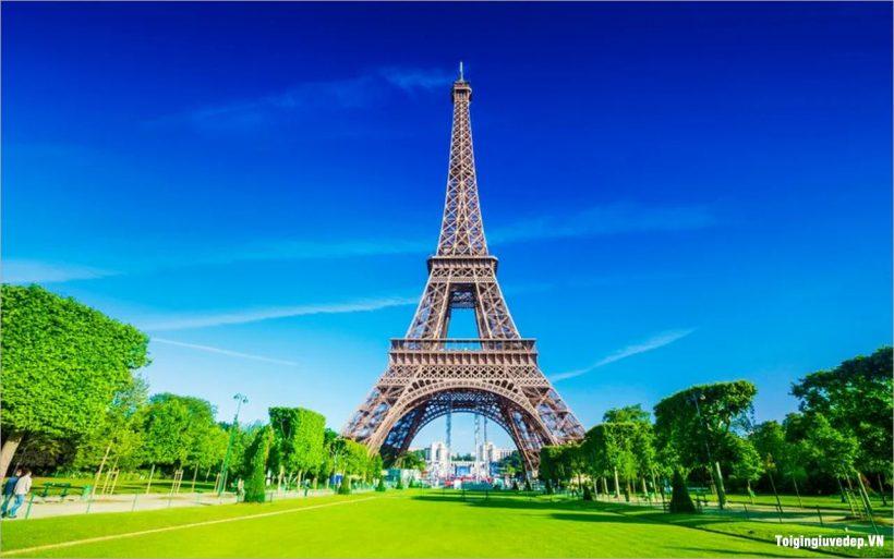 Hình ảnh tháp Eiffel đẹp nhất