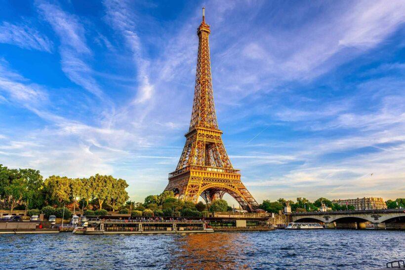 Hình ảnh tháp Eiffel ở Paris