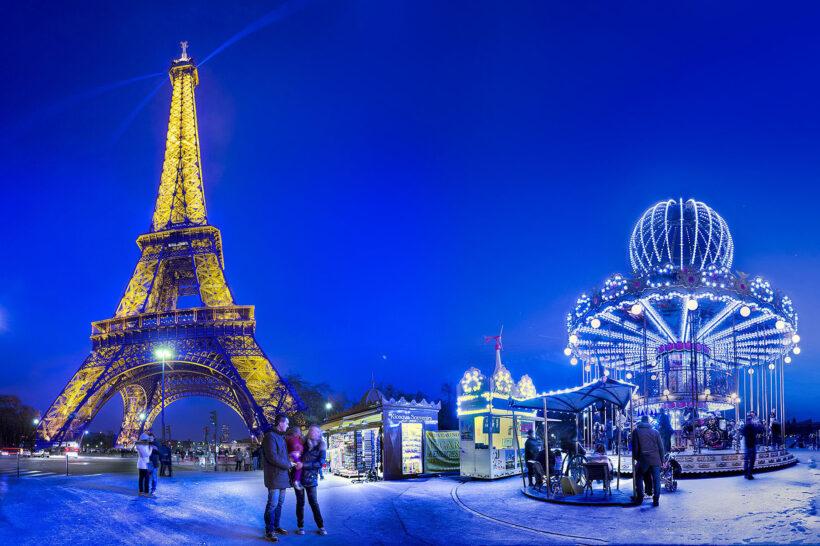 Hình ảnh tuyệt đẹp về tháp Eiffel