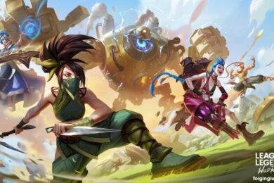 Hình nền liên minh tốc chiến bá đạo, chất full HD, 4K cho các Gamer