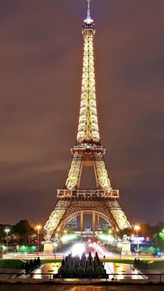 Hình nền tháp Eiffel cho điện thoại