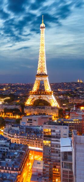 Hình nền tháp Eiffel đẹp cho điện thoại