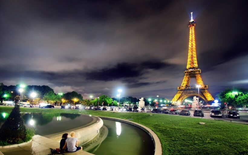 Tháp Eiffel đêm đẹp
