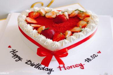 Tổng hợp những mẫu bánh sinh nhật hình trái tim tặng người thân yêu đẹp nhất