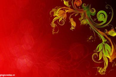 Top những background đỏ may mắn, đặc sắc và ấn tượng nhất