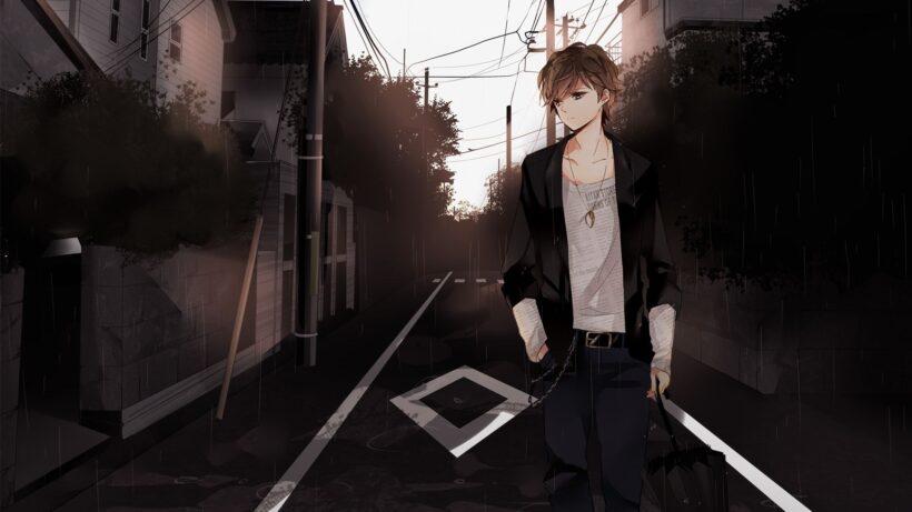 Ảnh anime nam ngầu, lạnh lùng, buồn