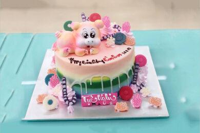 Bánh sinh nhật con heo(lợn) cho người tuổi hợi cute, đẹp nhất