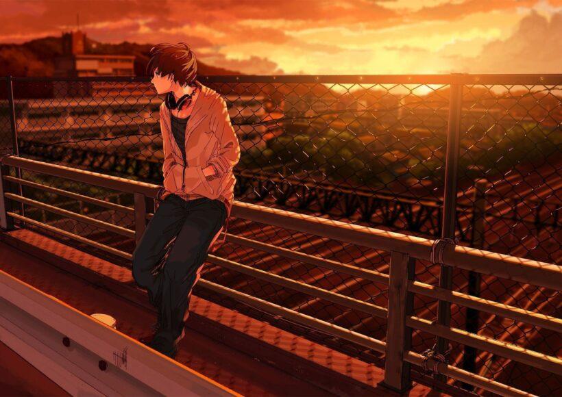 Hình ảnh anime boy ngầu, lạnh lùng, đẹp trai và cô đơn