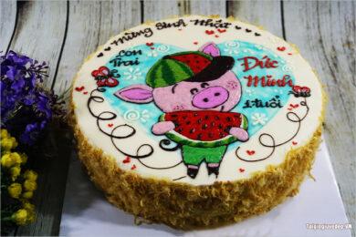 Hình ảnh bánh sinh nhật ngộ nghĩnh, đẹp nhất