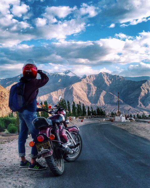 hình ảnh đi phượt bằng xe máy đẹp nhất